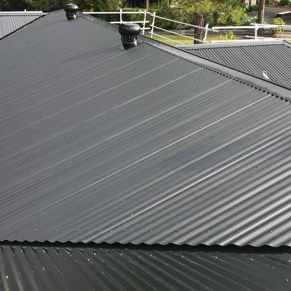 Residential-Roofing-Black-Colorbond